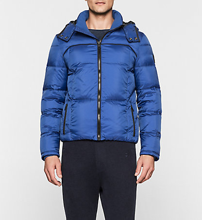 CALVIN KLEIN JEANS Hooded Down Jacket - Opron J30J300665495