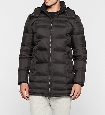 CALVIN KLEIN JEANS Hooded Down Coat - Opron J30J300666099