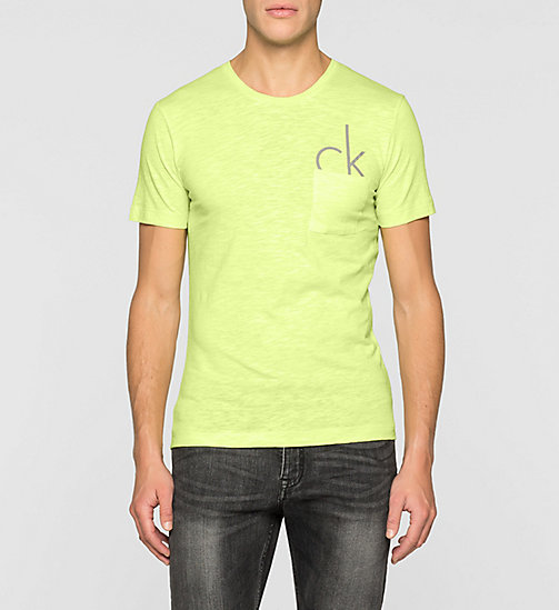 Camiseta regular con logo - SHARP GREEN - CK JEANS  - imagen principal