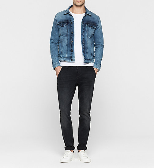 CALVINKLEIN Denim Jacket - RICH LIGHT BLUE - CK JEANS OUTERWEAR - detail image 1