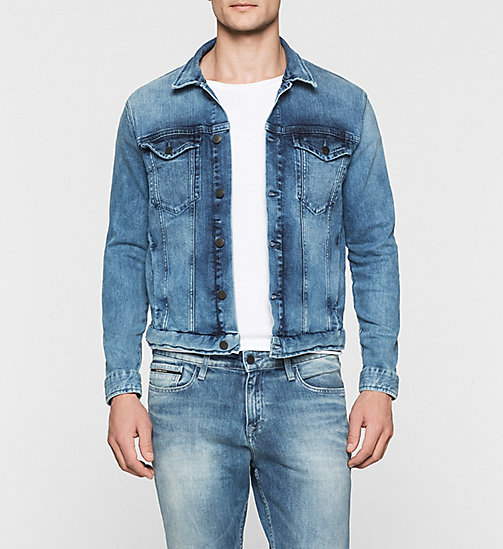 CALVINKLEIN Denim Jacket - RICH LIGHT BLUE - CK JEANS OUTERWEAR - main image