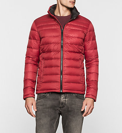 CALVIN KLEIN JEANS Logo Quilted Down Jacket - Opack J30J300925680