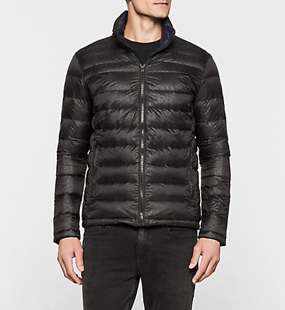 CALVIN KLEIN JEANS Logo Quilted Down Jacket - Opack J30J300925965
