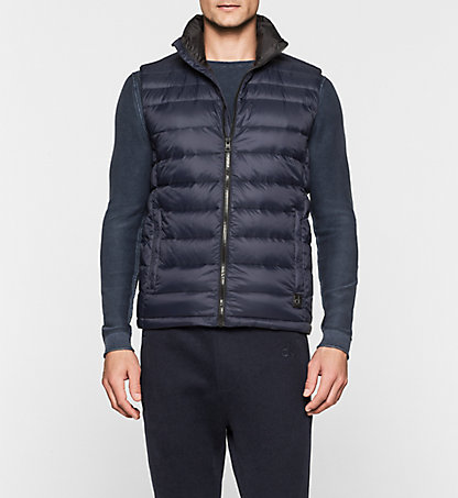 CALVIN KLEIN JEANS Quilted Down Bodywarmer - Opack J30J300926402