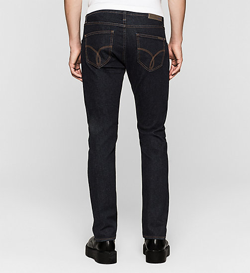 CALVIN KLEIN JEANS Sculpted Slim Jeans - RINSE BLUE - CALVIN KLEIN JEANS Up to 50% - detail image 1
