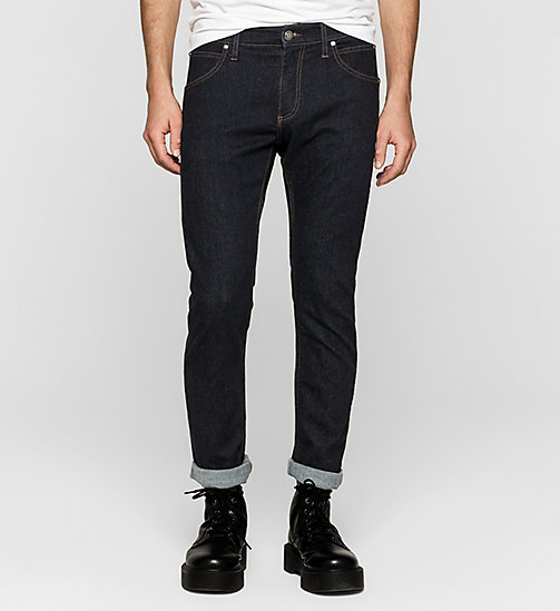 CALVIN KLEIN JEANS Sculpted Slim Jeans - RINSE BLUE - CALVIN KLEIN JEANS Up to 50% - main image