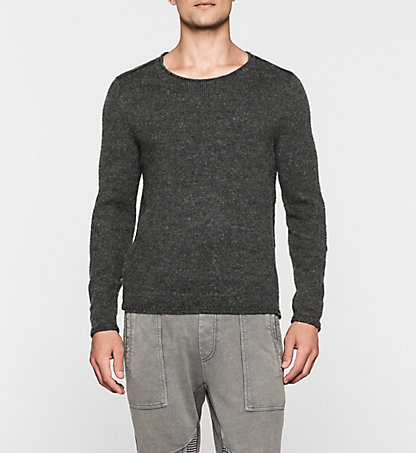 CALVIN KLEIN JEANS Wool Blend Sweater - Sing J30J300996099