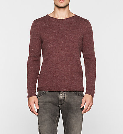 CALVIN KLEIN JEANS Wool Blend Sweater - Sing J30J300996297