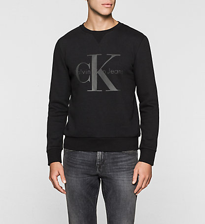 CALVIN KLEIN JEANS Sweat-shirt avec logo - Hatch J30J301069099
