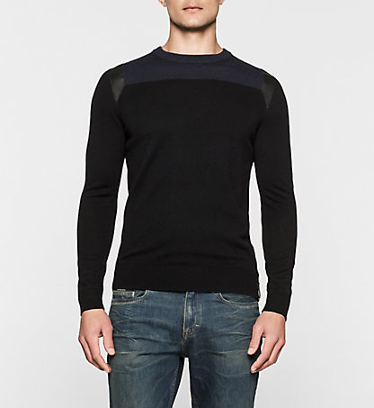 CALVIN KLEIN JEANS Wool Blend Sweater - Secret J30J301073099
