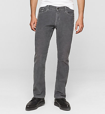 CALVIN KLEIN JEANS Slim Straight Cord Trousers J30J301103028