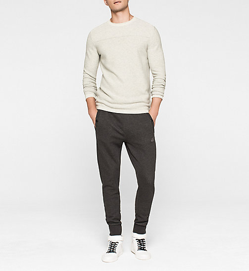 CALVINKLEIN Wool Blend Sweater - MID GREY HEATHER - CK JEANS JUMPERS - detail image 1