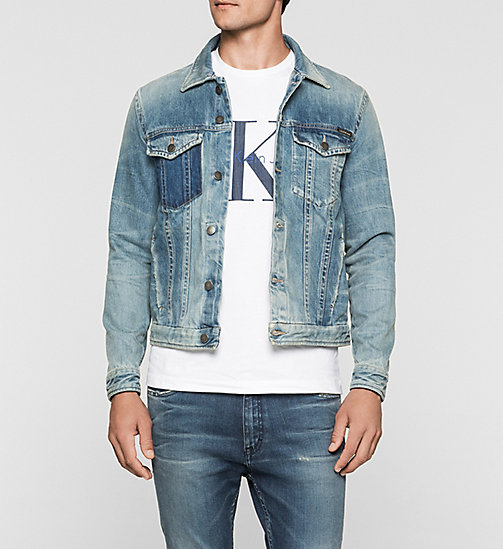 CALVINKLEIN Denim Jacket - TIME MACHINE - CK JEANS OUTERWEAR - main image