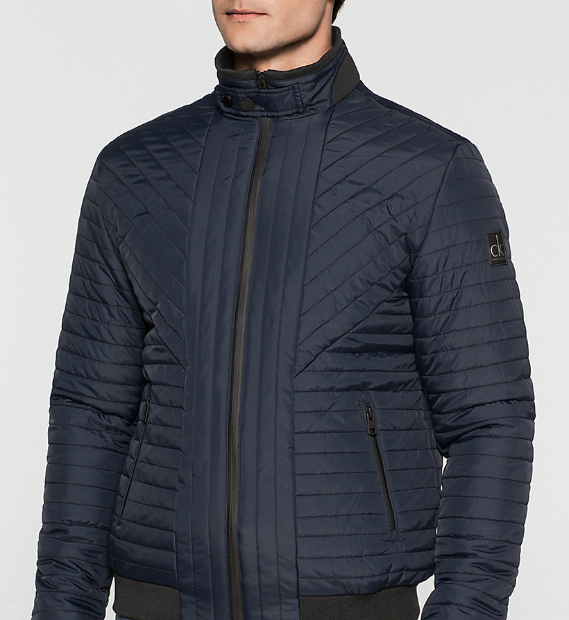 CKJEANS Padded Jacket - NIGHT SKY - CK JEANS OUTERWEAR - detail image 2