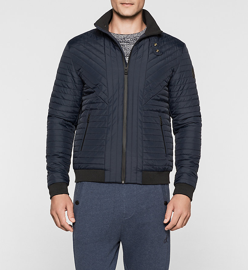CKJEANS Padded Jacket - NIGHT SKY - CK JEANS OUTERWEAR - main image
