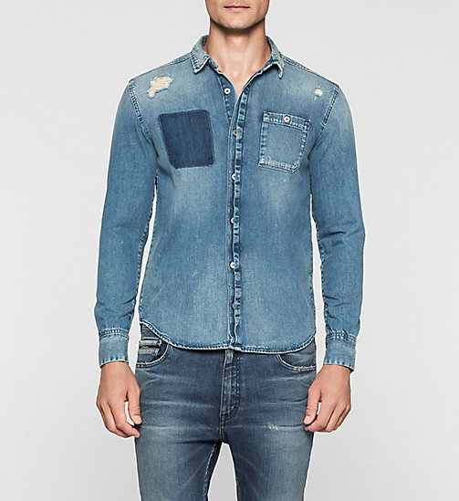 Denim Shirt - SHADE BLUE - CK JEANS  - main image
