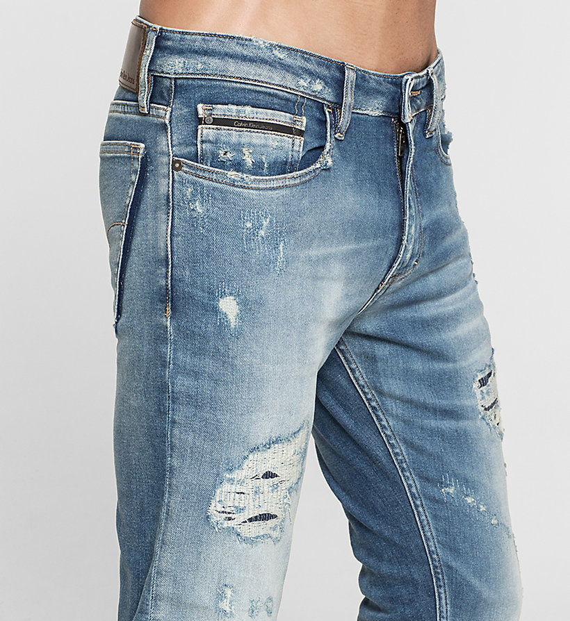 CKJEANS Slim Straight Jeans - TOKYO BLUE - CK JEANS JEANS - detail image 2