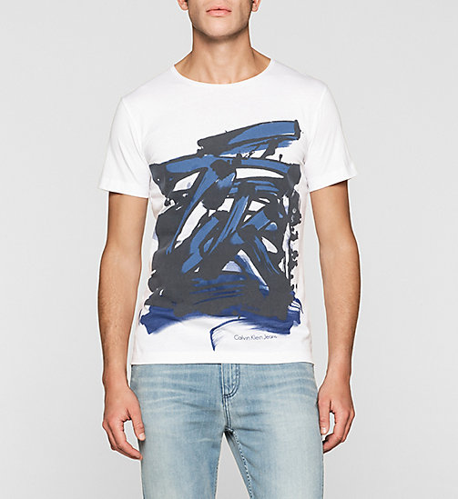 Regular Graffiti T-shirt - BRIGHT / PAINT - CK JEANS T-SHIRTS - main image
