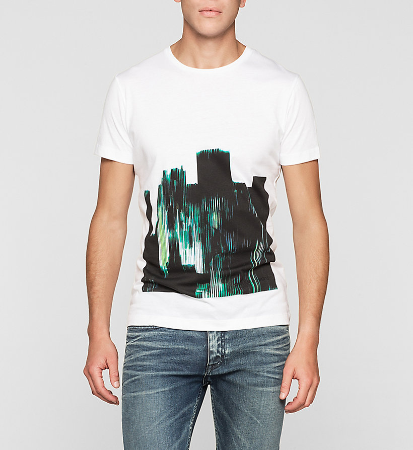 CKJEANS Regular Printed T-shirt - BRIGHT WHITE - CK JEANS T-SHIRTS - main image