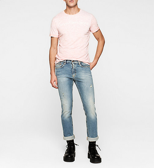 Regular Logo T-shirt - PEACH BEIGE - CK JEANS  - detail image 1