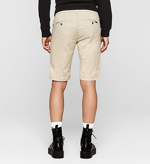 Short chino regular - PLAZA TAUPE - CK JEANS SHORTS - image détaillée 1