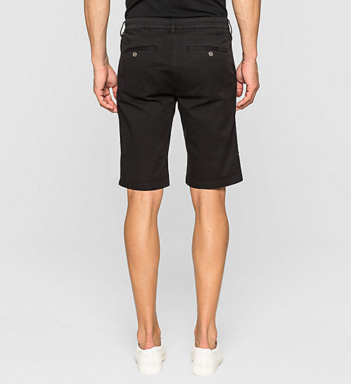 CKJEANS Regular Chino Shorts - CK BLACK - CK JEANS SUMMER SHOP FOR HIM - detail image 1