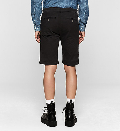 Regular Chino Shorts - NIGHT SKY - CK JEANS SHORTS - detail image 1