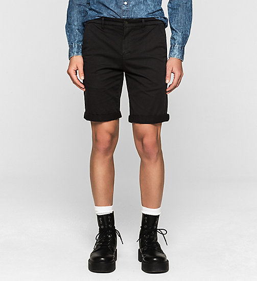 Pantaloncini chino regular - NIGHT SKY - CK JEANS SHORTS - immagine principale