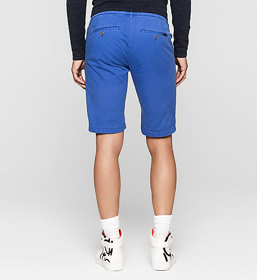 Regular Chino Shorts - DAZZLING BLUE - CK JEANS SHORTS - detail image 1