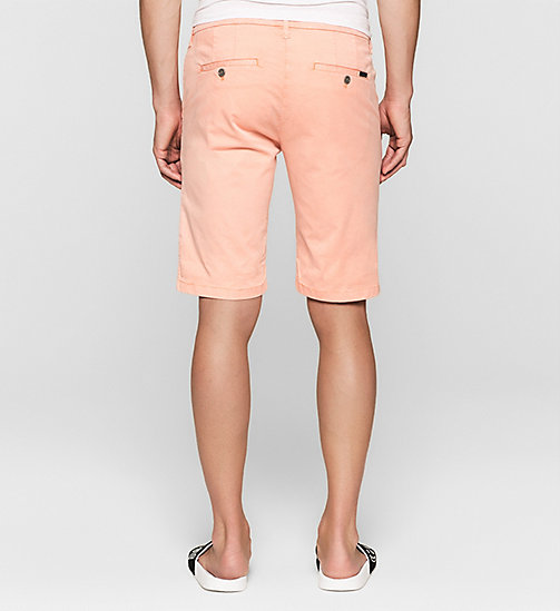 Regular Chino Shorts - PEACH BEIGE - CK JEANS SHORTS - detail image 1