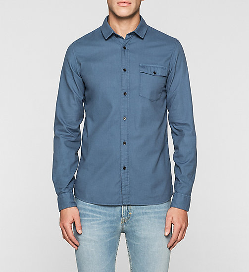 Slim Shirt - TRUE NAVY - CK JEANS SHIRTS - main image
