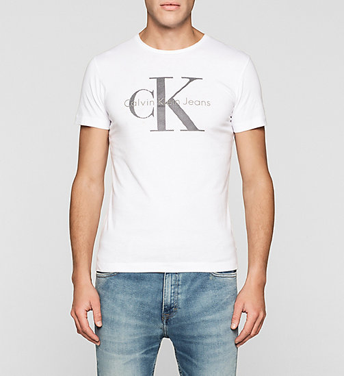 Regular Logo T-shirt - BRIGHT WHITE - CK JEANS CLOTHES - main image