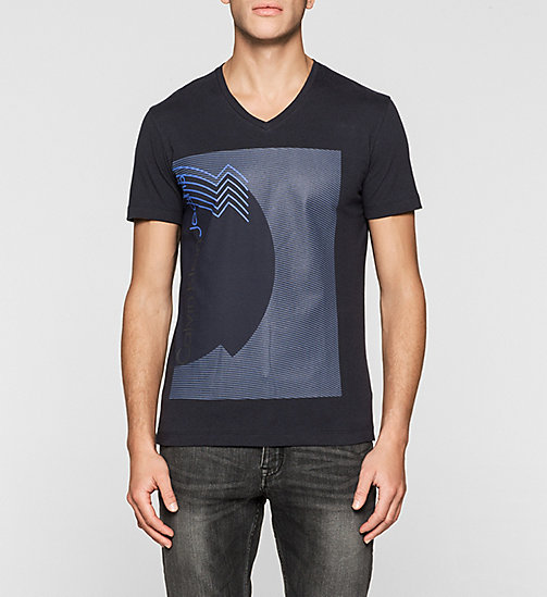 CKJEANS Regular Printed T-shirt - NIGHT SKY - CK JEANS MEN - main image