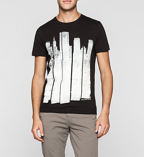 CKJEANS Regular Printed T-shirt - CK BLACK - CK JEANS Up to 50% - main image