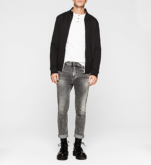 CKJEANS Langärmeliges Henley-Shirt - BRIGHT WHITE - CK JEANS VIP SALE MEN - main image 1