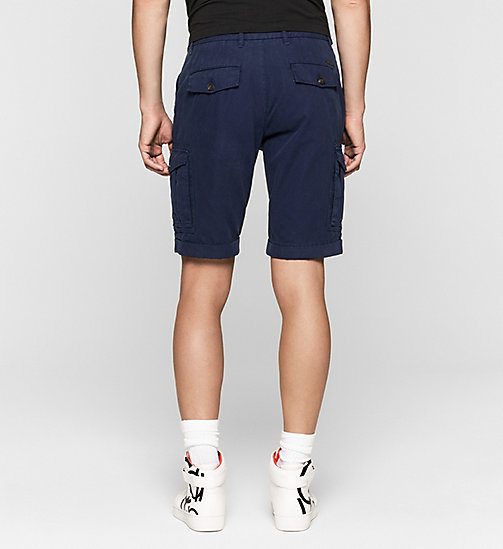 Regular Cargo Shorts - BLUE DEPTHS - CK JEANS SHORTS - detail image 1