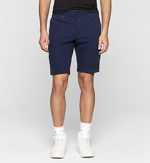 Short cargo regular - BLUE DEPTHS - CK JEANS SHORTS - image principale