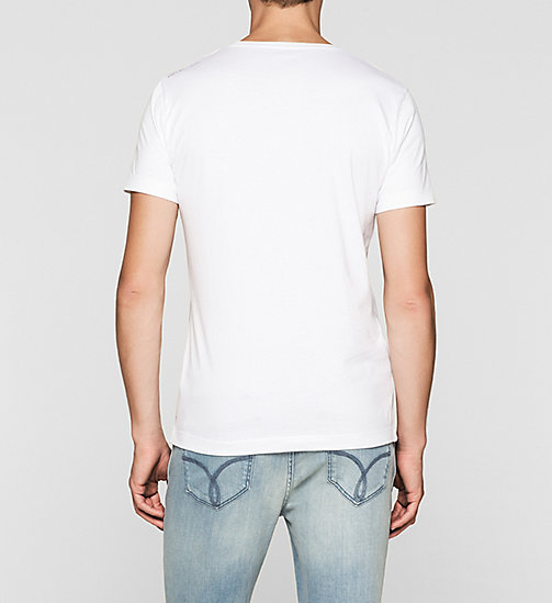 CKJEANS Regular Logo T-shirt - BRIGHT WHITE - CK JEANS T-SHIRTS - detail image 1