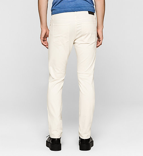 CKJEANS Slim Straight Trousers - MOONSTRUCK - CK JEANS MEN - detail image 1