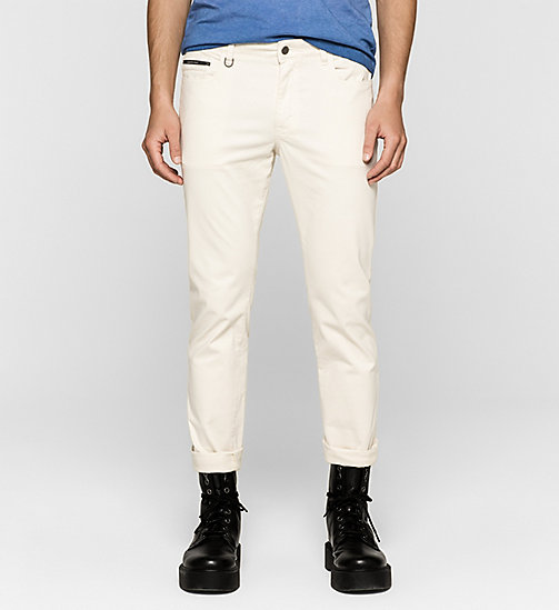 CKJEANS Slim Straight Trousers - MOONSTRUCK - CK JEANS MEN - main image