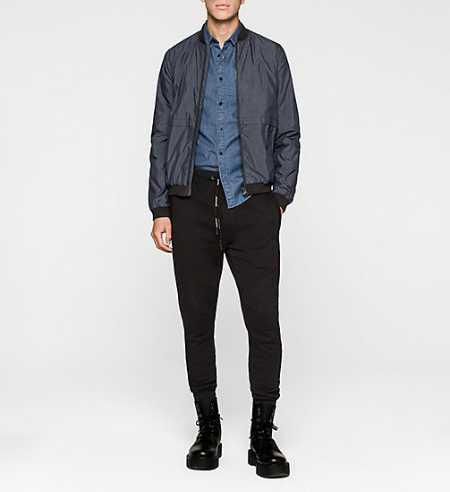 CKJEANS Bomber Jacket - NIGHT SKY - CK JEANS MEN - detail image 1