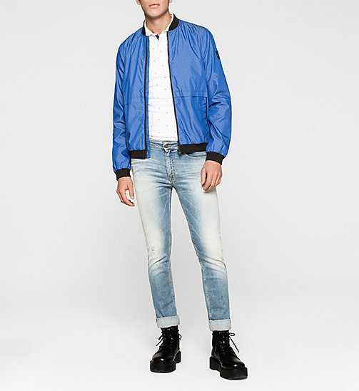 CKJEANS Bomber Jacket - MONACO BLUE - CK JEANS Up to 50% - detail image 1