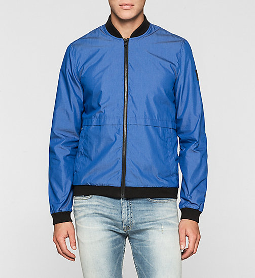 CKJEANS Bomber Jacket - MONACO BLUE - CK JEANS Up to 50% - main image