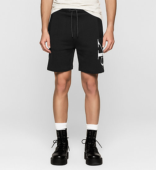Logo Sweat-Shorts - CK BLACK - CK JEANS SHORTS - main image
