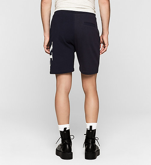 CKJEANS Logo Sweatshorts - NIGHT SKY - CK JEANS SUMMER SHOP FOR HIM - detail image 1