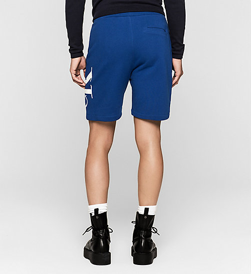 Logo Sweat-Shorts - MONACO BLUE - CK JEANS SHORTS - main image 1