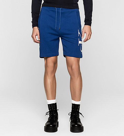 Logo Sweat-Shorts - MONACO BLUE - CK JEANS SHORTS - main image