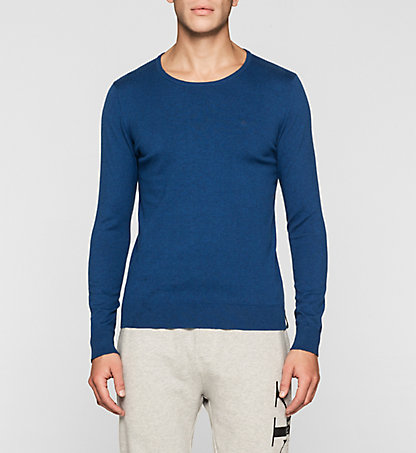 CALVIN KLEIN JEANS Cotton Stretch Sweater J30J304649441