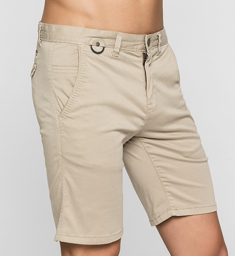 CKJEANS Fitted Chino Shorts - CK BLACK - CK JEANS SHORTS - detail image 2