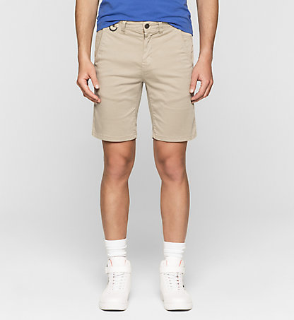 CALVIN KLEIN JEANS Fitted Chino Shorts J30J304651024